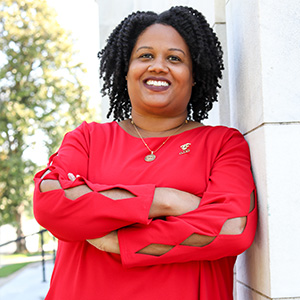 Image of Second Vice-President Candace Tate